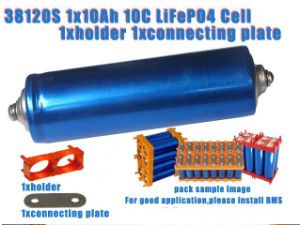 38120s 10ah LiFePO4 Cylindrical Battery Cell 10c pictures & photos
