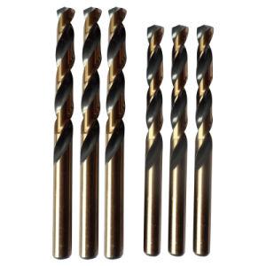 Fully Ground Black&Amber Finish HSS Jobber Drill Bit (JL-HSFBA) pictures & photos