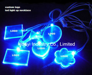Advertising LED Light up Necklaces pictures & photos