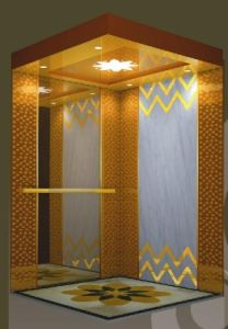 Germmany Technology Passenger Elevator with Luxury Cabin Tkj
