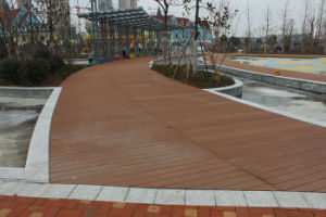 Outdoor WPC Decking Floor, WPC Composite Wood Decking pictures & photos