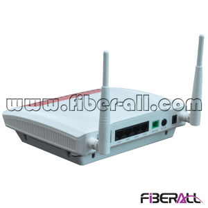 FTTH Ont for Gpon with 1 Gpon Port 4 X 10/100/1000m Ports, 2 Pots Ports and 1 WLAN Port pictures & photos