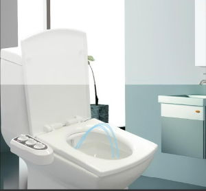 Excellent Non-Electronic Plastic Seat Cover Toilet Seat Bidet