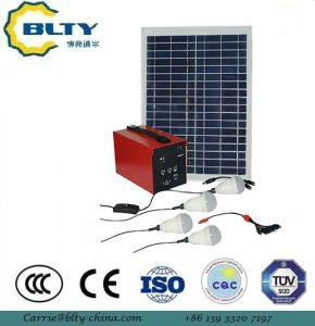 20W Solar system Solar Lighting Kits pictures & photos