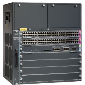 New Cisco Ws-C4507r+E= Core Gigabit Network Switch pictures & photos