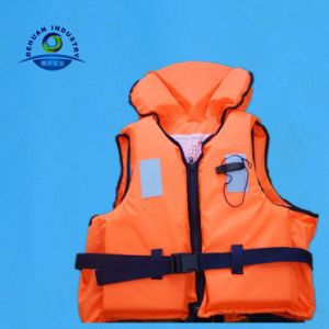 Customized En395 Marine Life Jacket with 300d Polyester Fabric (DH-075)