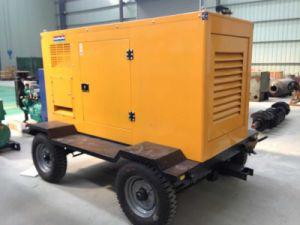 150kVA 120kw Trailer Type Mobile Cummins Diesel Generator