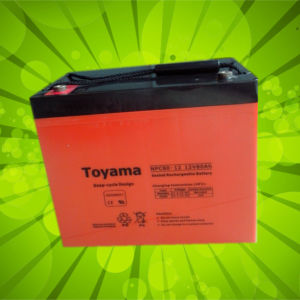 12V80ah Advanced Deep Cycle AGM Battery Sealed Lead Acid pictures & photos