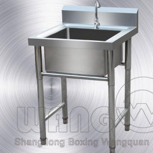 Stainless Steel Sink with 1 Bowl for Kitchen pictures & photos