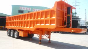 31cbm 3 Axles Waste Tipper Trailer pictures & photos