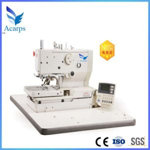 Electronic Eyelet Buttonhole Sewing Machine Gem9820-a/B pictures & photos