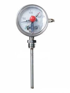 Bimetal Thermometer with Electric Contact (WSSX-411)