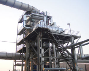 Manganeisen Submerged Arc Furnace Exhaust Gas Boiler