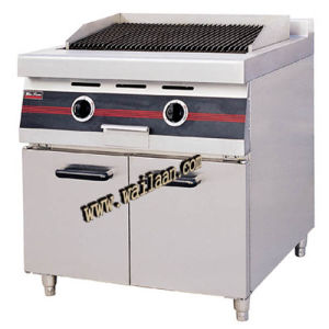 Gas Lava Rock Broiler with Cabinet (GPL90)