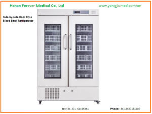 Bbr130 High Quality Famous Compressor Blood Bank Refrigerator pictures & photos