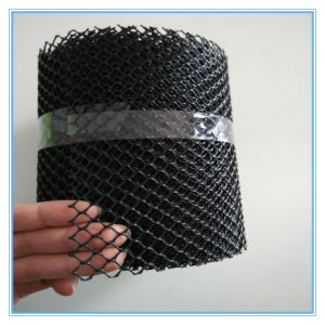 Black Plastic Gutter Guare Mesh Type pictures & photos