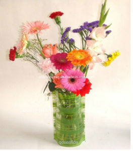 Export Plastic Foldable Magic Flower Vase pictures & photos