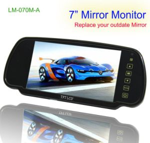 7 Inches Night Vision LCD Car Mirror (LM-070M-A)