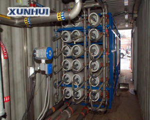 Mobile Reverse Osmosis Water Treatment System for Sea Water Desalination Plant