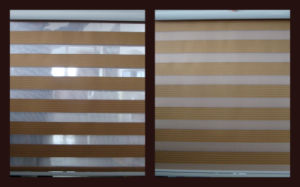 Blockoutable Double-Layer Zebra Blind pictures & photos