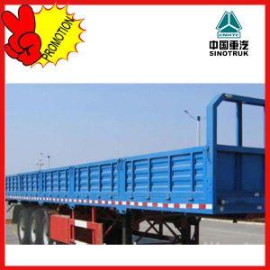 China Tri-Axle Cargo Semi Trailer