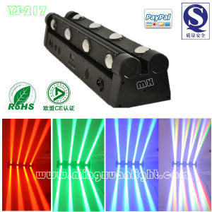Double Bar Moving Head Disco Light LED Scanner (YS-217) pictures & photos