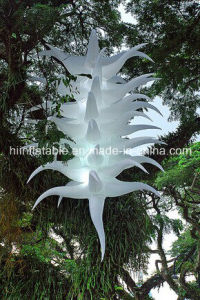 Large Inflatable Flower Chain for Decoration