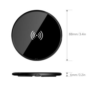 Ultra-Slim Wireless Charger for Samsung S6 Mobile Phone pictures & photos