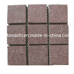 Cheap Price Natural Red Paving Stone for Exterior Floor Cladding pictures & photos
