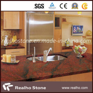 Top Quality American Style Red Granite Countertop