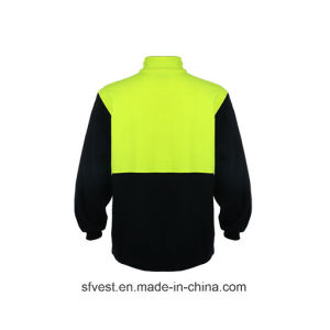 100% Polyester Fleece Safety Sweatshirt pictures & photos