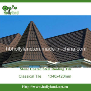 Classical Type Stone Coated Metal Roof Tile pictures & photos