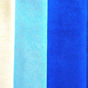 High Color Fastness of Faux Suede Upholstery Fabrics/New Arrival Blue Suede Fabric for Sofa