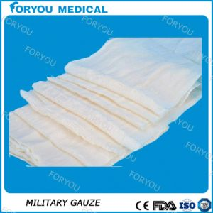 Medical Sterile Gauze for The High Evaorbent Compress Bandage pictures & photos