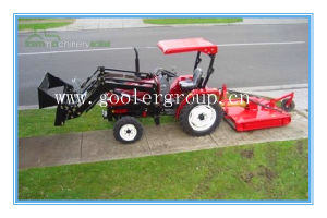 Lz304,30HP, 4WD Tractor Fit with Front End Loader, Slasher Mower, Mini Garden Tractor 4in1 Loader pictures & photos