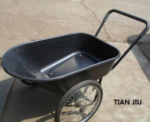 Double Big Wheel Wheelbarrow Wb8804 pictures & photos