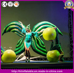 Attractive Stage Decoration Inflatable Performance Butterfly Costume pictures & photos