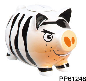 Pirate Piggy Coin Bank (PP61248)