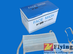 Non Woven Face Mask With Ties