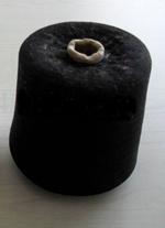 Black Polyester Spun Yarn