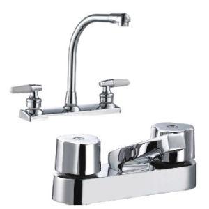 "South American 8"" Kitchen Basin Faucet/ Mixer (BDF307) pictures & photos"