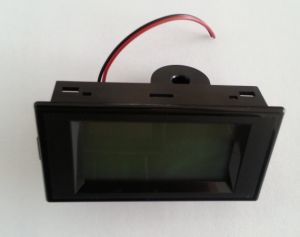 LCD Digital Black AC Voltmeter Ammeter AC100-300V Voltage Current Meter 2 In1 Panel Meter Voltmeter Ammeter AC0-50A
