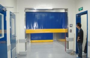 High Speed Door with Rolling Door Motor, Fast Rolling Door pictures & photos