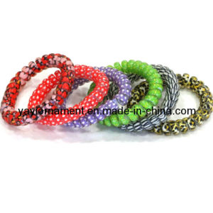 2014 Fashion Colors Elastic Telephone Wire Headbands for Girl/Women