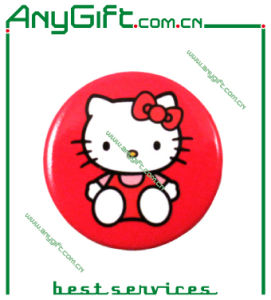 Metal Button Badge with Customized Logo (LAG-MP-25) pictures & photos