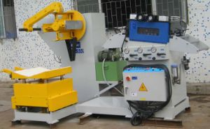2 in 1 Straightener Decoiler with Coil Car