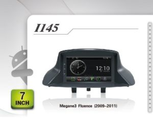 Pure Android Headunit Car DVD GPS for Renault Megane3 Fluence (2009-2011)