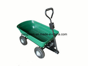 Garden Poly Dump Cart (100 liter) pictures & photos