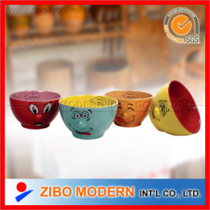Ceramic Bowls with Fancy Nose Design pictures & photos