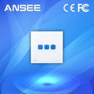 China Factory WiFi Control Smart Home Touch Light Wall Switch pictures & photos